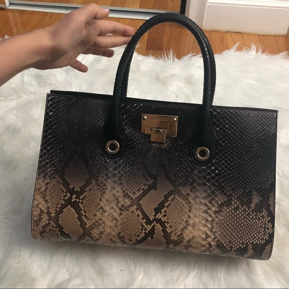 Jimmy Choo Handbags - Jimmy Choo 'Riley - Dégradé' Genuine Python Tote
